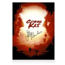 Ralph Macchio Signed Cobra Kai 2 Poster