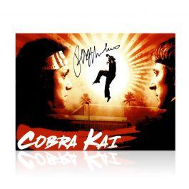 Ralph Macchio Signed Cobra Kai Poster