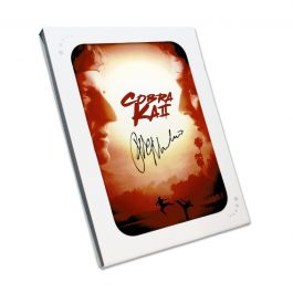 Ralph Macchio Signed Cobra Kai 2 Poster. In Gift Box