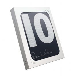 Denis Law Signed Scotland Football Shirt 1967. Number 10. In Gift Box