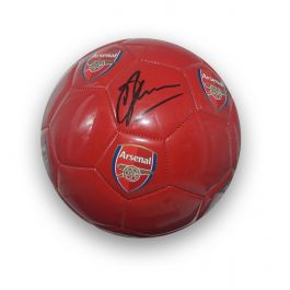 Dennis Bergkamp Signed Arsenal Football