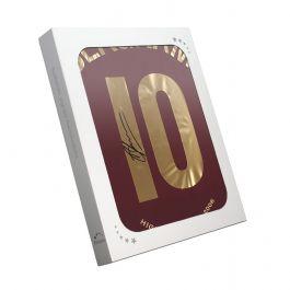 Dennis Bergkamp Signed 2005-06 Arsenal Commemorative Highbury Shirt In Gift Box
