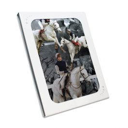 Signed Richard Dunwoody Horse Racing Photo: Desert Orchid. In Gift Box