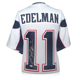 Julian Edelman Signed American Football Jersey