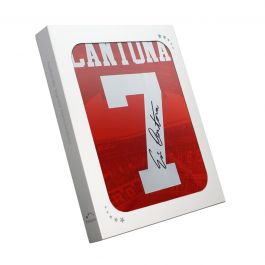 Eric Cantona Signed Manchester United 1996 Home Shirt In Gift Box
