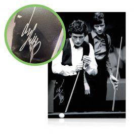 Jimmy White Signed Photo: World Snooker Championship Semi-Final. Damaged Stock C