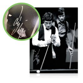 Jimmy White Signed Photo: World Snooker Championship Semi-Final. Damaged Stock G