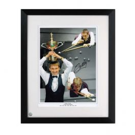 Signed And Framed Stephen Hendry Snooker Photo