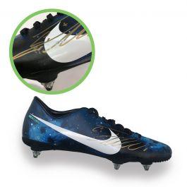 Cristiano Ronaldo Signed CR7 Football Boot - Smudged Stock C