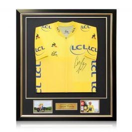 Geraint Thomas Signed Tour De France 2018 Yellow Jersey Framed