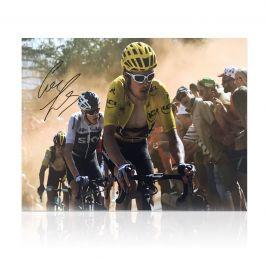 Geraint Thomas Signed Tour De France Photo: Dutch Corner