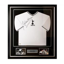 Glenn Hoddle Signed Tottenham Hotspur 1981 Shirt. Deluxe Frame