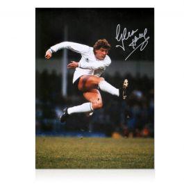 Glenn Hoddle Signed Tottenham Hotspur Photo: The Volley