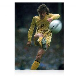 Glenn Hoddle Signed Tottenham Hotspur Photo: 1982 FA Cup Final
