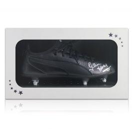 Glenn Hoddle Signed Football Boot. In Gift Box