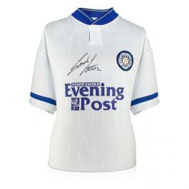 Gordon Strachan Signed Leeds United 1992 Shirt