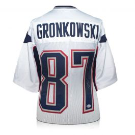 Rob Gronkowski Signed American Football Jersey