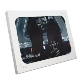 The Emperor And Darth Vader Signed Star Wars Photo In Gift Box