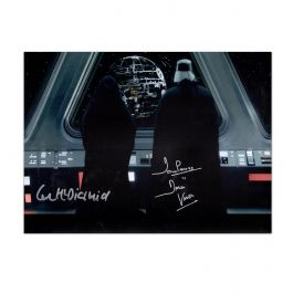 The Emperor And Darth Vader Signed Star Wars Photo