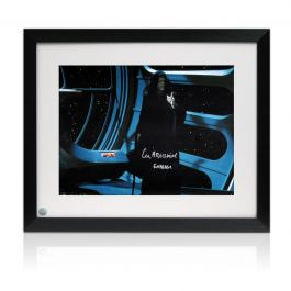 Ian McDiarmid Signed Star Wars Photo: The Emperor Framed
