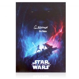 Ian McDiarmid Signed Star Wars Poster: The Rise Of Skywalker