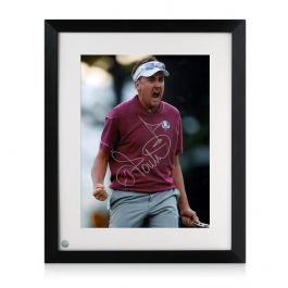 Ian Poulter Signed Photo: Ryder Cup 2012 Framed