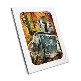 Boba Fett Signed Star Wars Poster: Bounty Hunter In Gift Box