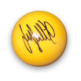 Jimmy White Signed Yellow Snooker Ball