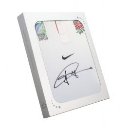 Jonny Wilkinson Signed World Cup 2003 England Rugby Shirt In Gift Box