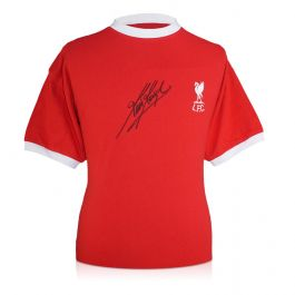 Kevin Keegan Signed Liverpool Football Shirt 1973