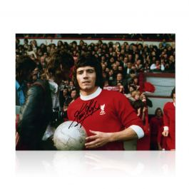 Kevin Keegan Signed Liverpool Photo