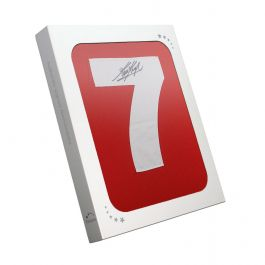 Kevin Keegan Signed Liverpool 1973 Number Seven Football Shirt In Gift Box