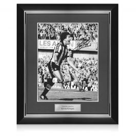 Kevin Keegan Signed Newcastle United Photo. Deluxe Frame