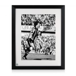 Kevin Keegan Signed Newcastle United Photo. Framed