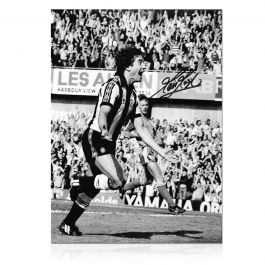 Kevin Keegan Signed Newcastle United Photo