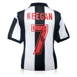 Kevin Keegan Signed Newcastle United 1984 Shirt