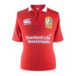 Martin Johnson Signed British Lions Rugby Shirt
