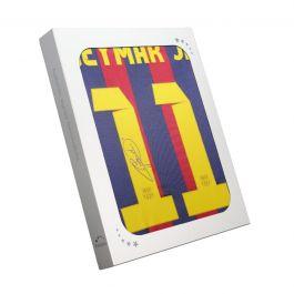 Neymar Jr Signed Barcelona 2013-14 Shirt. Gift Box