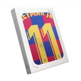 Neymar Jr Signed Barcelona 2019-20 Shirt. Gift Box