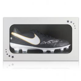 Paolo Maldini Signed Tiempo Football Boot In Gift Box
