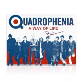 Phil Daniels Signed Quadrophenia Poster: A Way Of Life