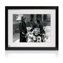 Framed Quadrophenia Dual Signed Photo: Jimmy And Steph