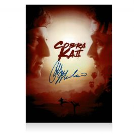 Ralph Macchio Signed Cobra Kai Season 2 Poster