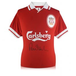 Robbie Fowler Signed Liverpool Shirt 1996