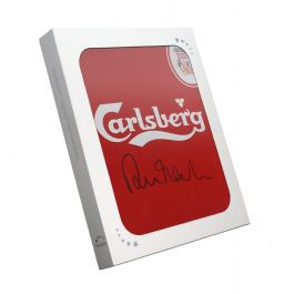 Robbie Fowler Front Signed 1996 Liverpool Shirt. In Gift Box