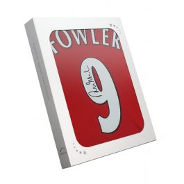 Robbie Fowler Signed Liverpool Number 9 Shirt 2001. In Gift Box