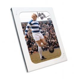 Rodney Marsh Signed QPR Photo In Gift Box