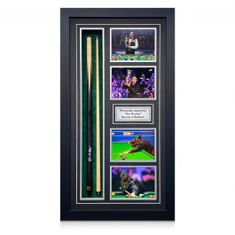 Ronnie O'Sullivan Signed Snooker Cue. Framed