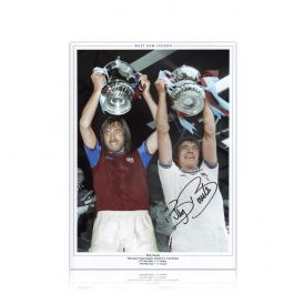 Billy Bonds Signed West Ham United Photograph