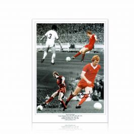 David Fairclough Signed Liverpool Photo